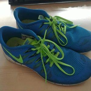 Nike Free 5.0 size 9.5